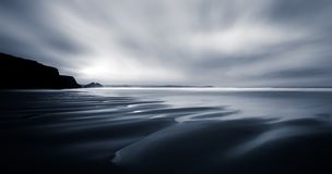 Beach Dreams, seascape abstract, Watergate Bay, Cornwall royalty free stock photography
