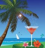 Beach drink Royalty Free Stock Photos
