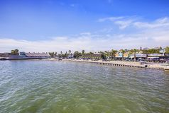 Beach Drive And Casino In Gulfport stock photo