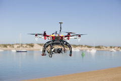 Beach drone Royalty Free Stock Photo