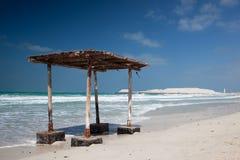 On the beach in Dubai Stock Photography