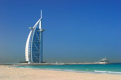 Beach of Dubai Royalty Free Stock Images