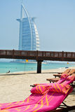 Beach in Dubai Royalty Free Stock Photos