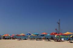 Beach at Dubai Royalty Free Stock Images