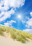 Beach and dunes stock photography