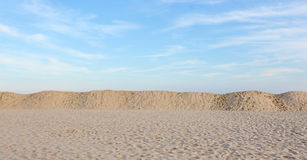 Beach, Dunes, and Sky Royalty Free Stock Image