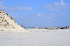 Beach and dunes Terschelling Royalty Free Stock Photos