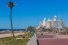 Beach Durban Promenade  Royalty Free Stock Photos