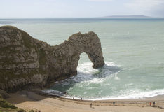 Beach at Durdle Door Royalty Free Stock Photography