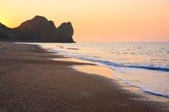 Beach at Durdle Door, UK. Royalty Free Stock Photos