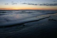 Beach at dusk Royalty Free Stock Photos