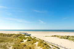 Beach Dutch North sea Royalty Free Stock Images