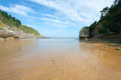 Beach of EA, Bizkaia Stock Photography