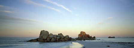 Beach east coast tasmania royalty free stock image