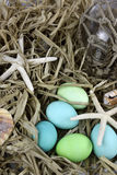 Beach Easter Egg Background Royalty Free Stock Photo
