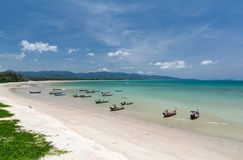 Beach in eastern Thailand Stock Images