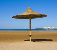 Beach in Egypt Royalty Free Stock Photography