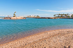 Beach in Egypt Royalty Free Stock Images