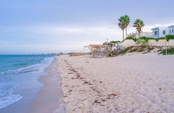 The beach of El Kantaoui Stock Image