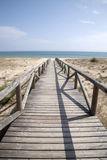 Beach at El Palmar, Cadiz, Andalusia, Spain Stock Image