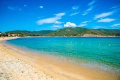 Beach in Elba Island Stock Photography