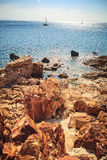 The beach on Elba island Royalty Free Stock Images
