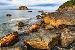 The beach on Elba island Royalty Free Stock Photography