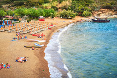The beach on Elba island Royalty Free Stock Image