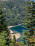 Beach at Emerald Bay Royalty Free Stock Photo