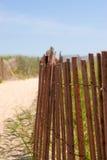 Beach Entrance Stock Photo
