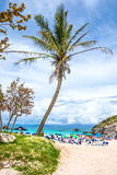 Beach Entrance Bermuda Stock Photography
