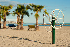 Beach equipment Royalty Free Stock Photography