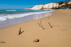 Beach of Eraclea Minoa. In Sicily Italy Stock Image