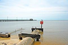 Beach Erosion Control Stock Photos