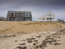 Beach erosion Royalty Free Stock Photos