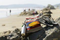 Beach essentials Stock Photo