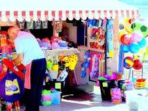 Beach essentials, Paignton, Devon. Stock Images