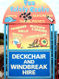 Beach essentials, Skegness. royalty free stock photo