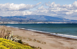 Beach in Estepona Stock Photos