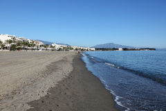 Beach of Estepona, Spain Royalty Free Stock Image