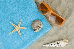 Beach etude Royalty Free Stock Photos