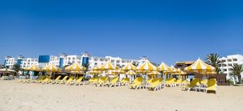 Beach facilities Royalty Free Stock Image