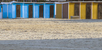 Beach facilities Royalty Free Stock Image