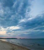 Beach. Famous pier area, taken in Sopot, Poland Stock Photos