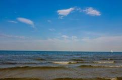 Beach. Famous pier area, taken in Sopot, Poland Stock Photo