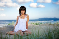 Beach fashion Stock Photography