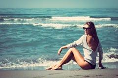 Beach fashion Royalty Free Stock Photography