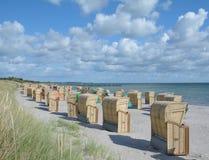 Beach,Fehmarn,Germany Royalty Free Stock Photography