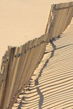 Beach fence Stock Image