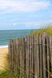 Beach fence Stock Images